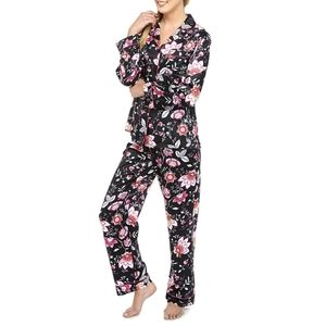 🆕 Linea Donatella 2-PC Floral Pajama Set PJs NEW